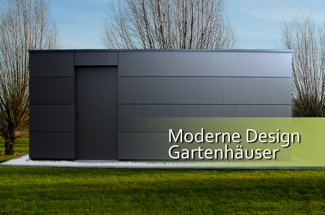 gartenhaus modernes design my blog. Black Bedroom Furniture Sets. Home Design Ideas